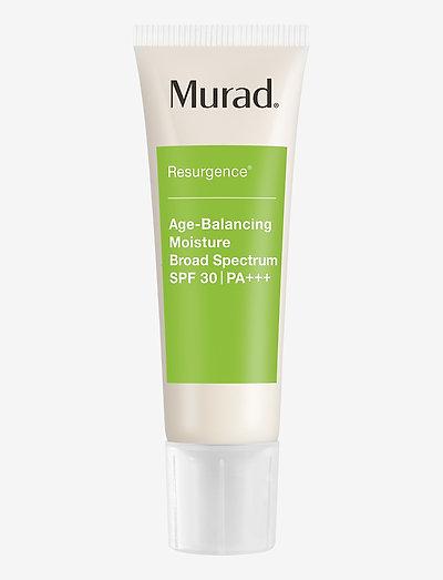 Murad Resurgence Age-Balancing Moisture SPF30 - dagcreme - clear