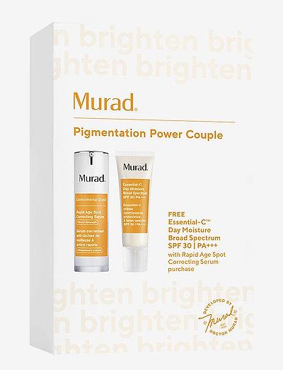 Pigmentation Power Couple - hudpleiesett - clear