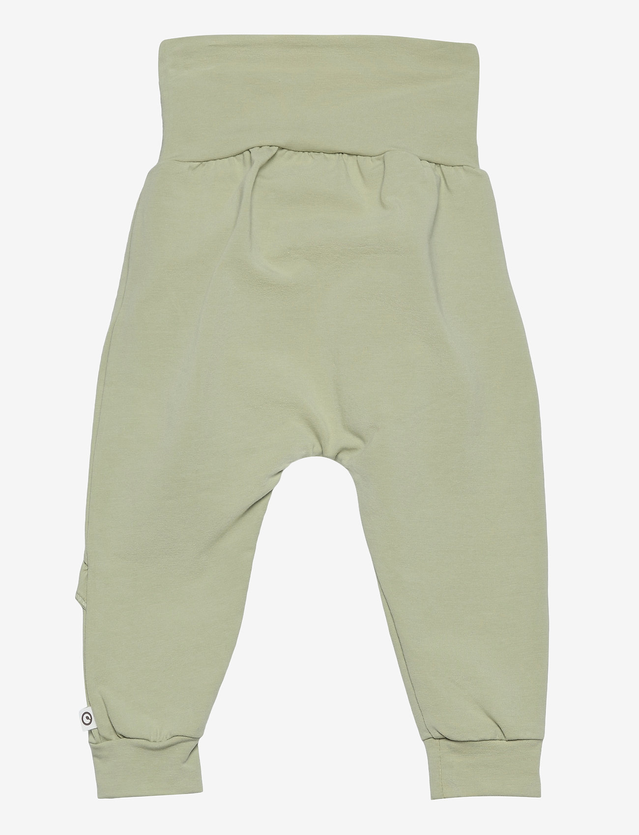 Müsli by Green Cotton - Cozy me frill pants - trousers - pale moss - 1