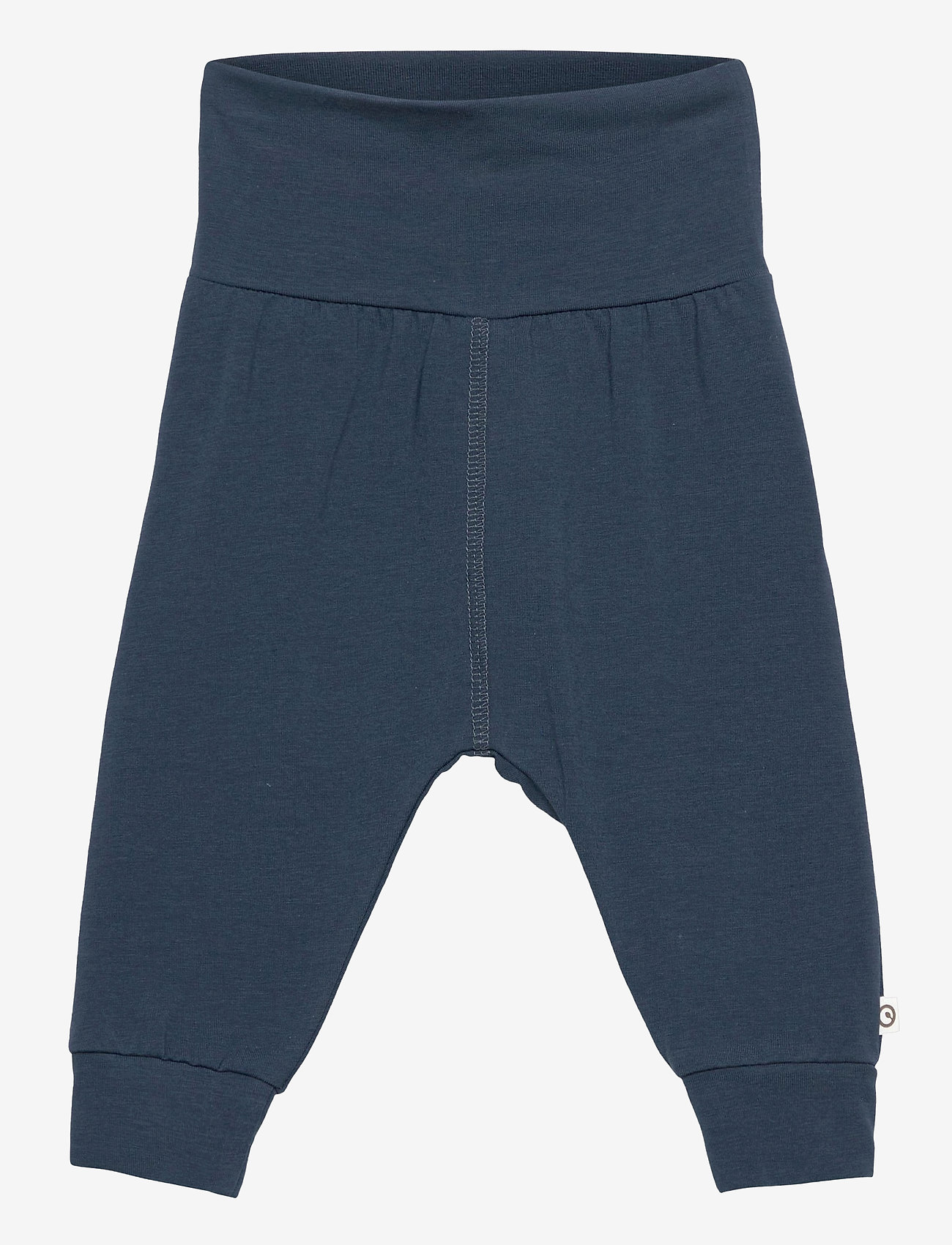 Müsli by Green Cotton - Cozy me pants - trousers - midnight - 0