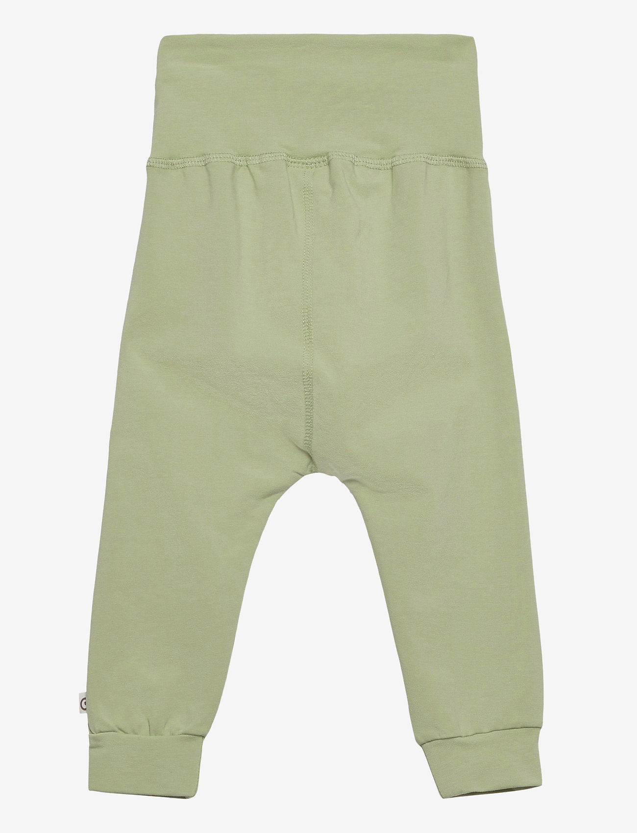 Müsli by Green Cotton - Cozy me pants - trousers - pale moss - 1