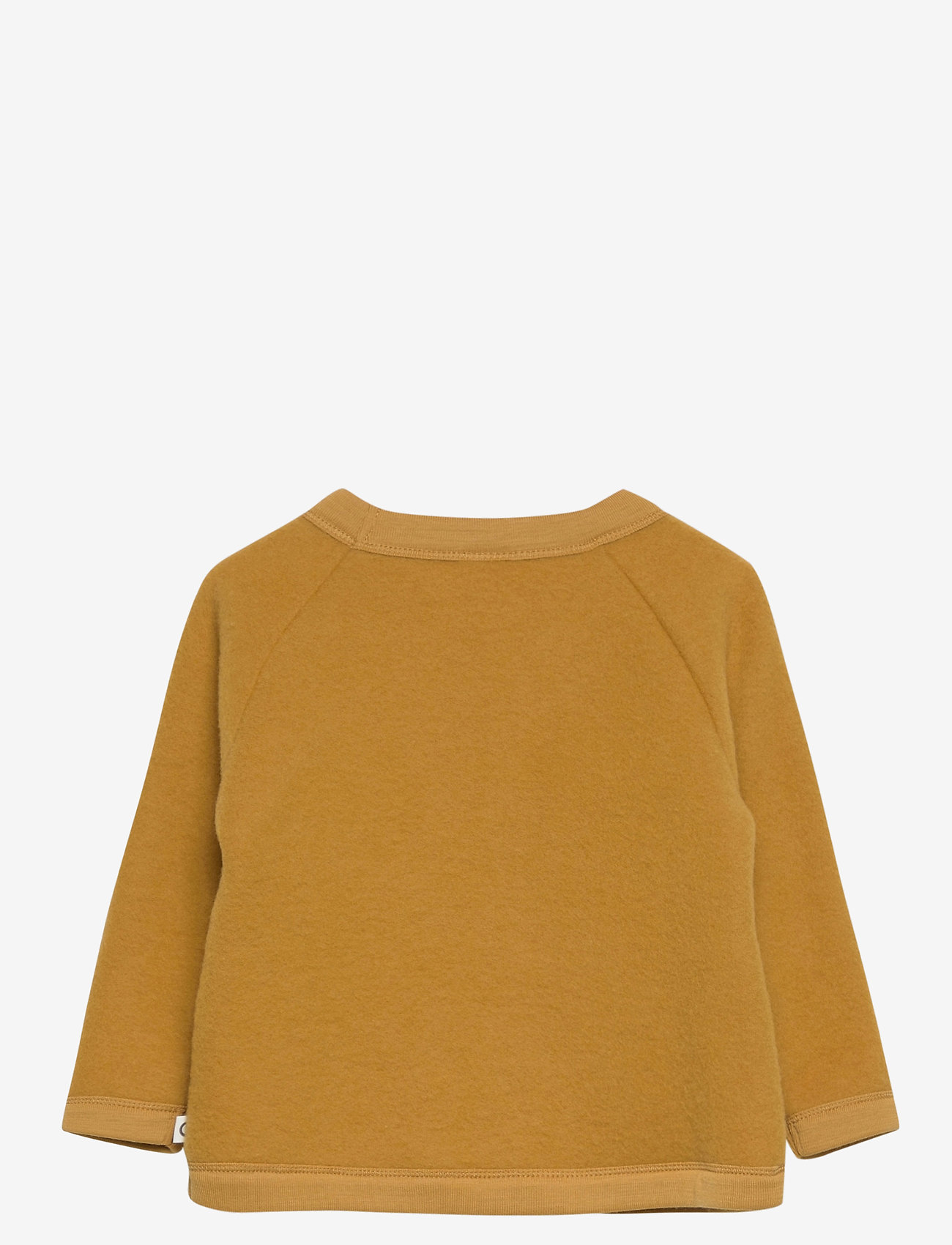 Müsli by Green Cotton - Woolly fleece jacket baby - gilets - wood - 1