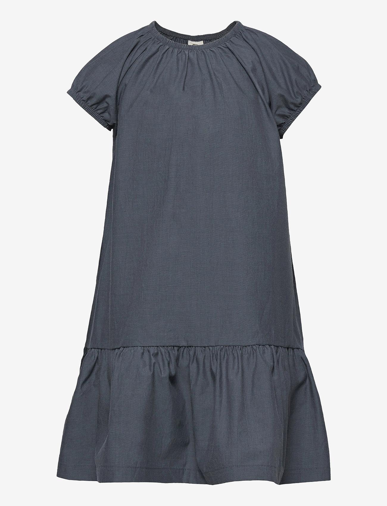 Müsli by Green Cotton - Chambray dress - jurken - chambray - 0