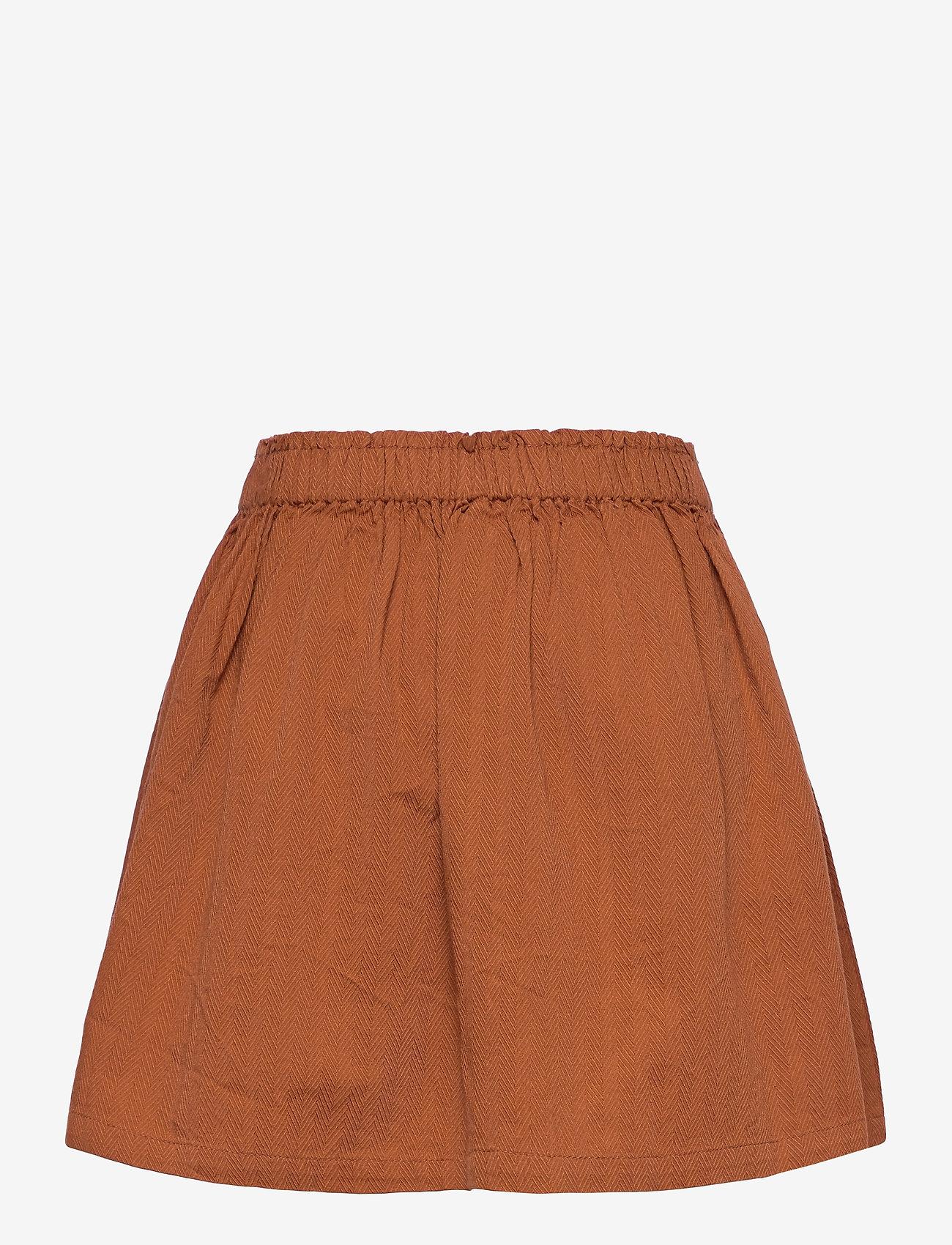Müsli by Green Cotton - Woven skirt - röcke - ocher - 1