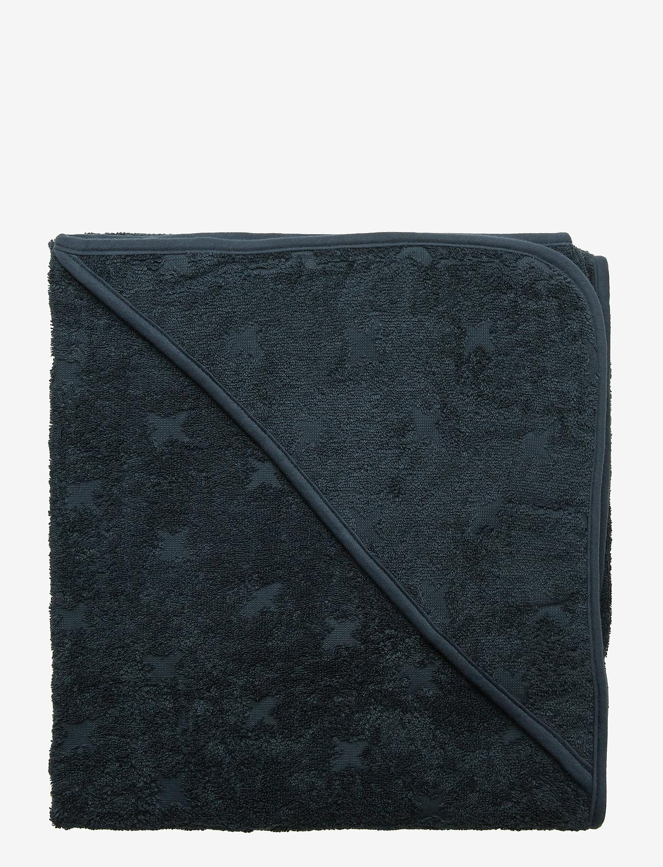 Müsli by Green Cotton - Baby towel - akcesoria - midnight - 0