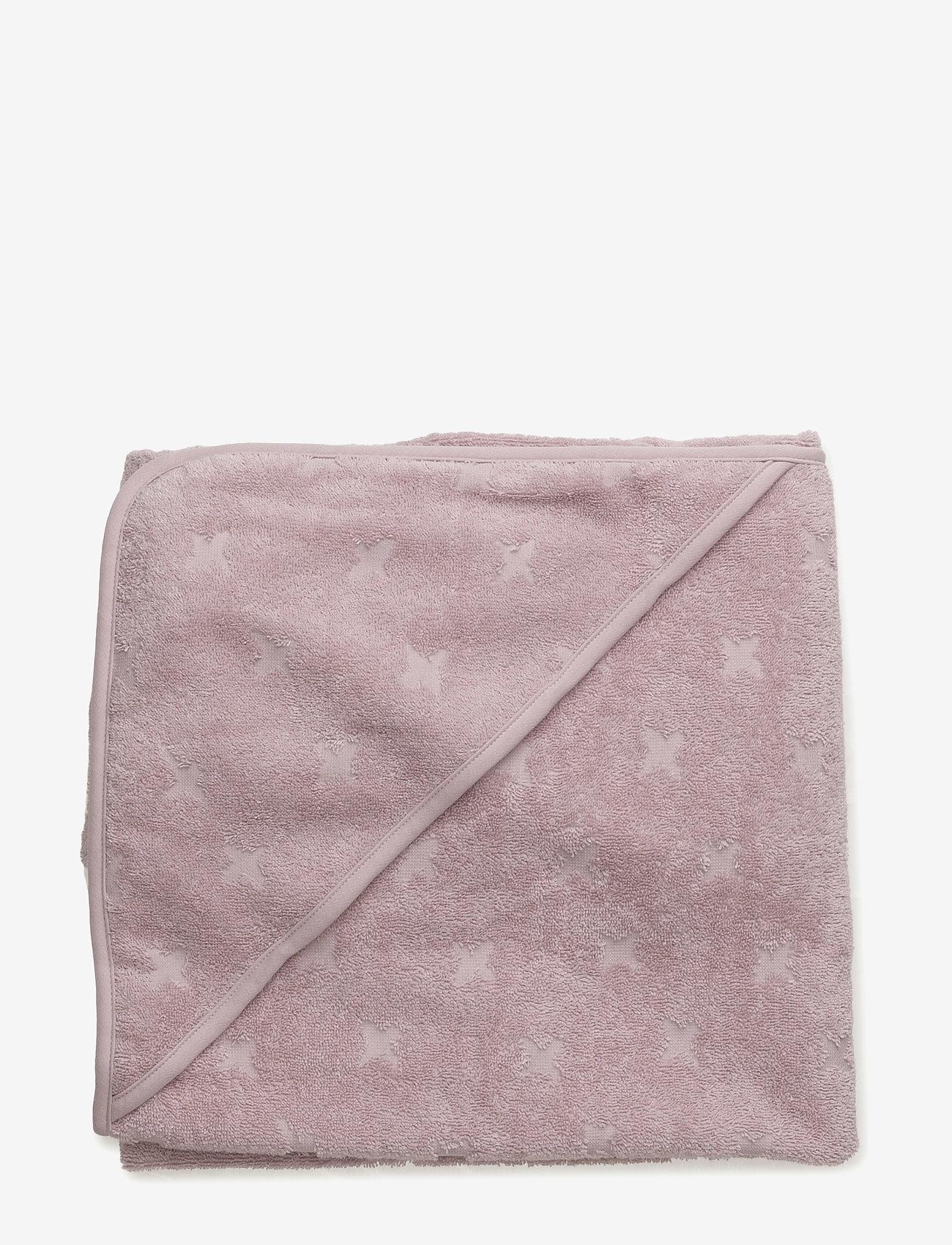 Müsli by Green Cotton - Baby towel - akcesoria - rose - 1