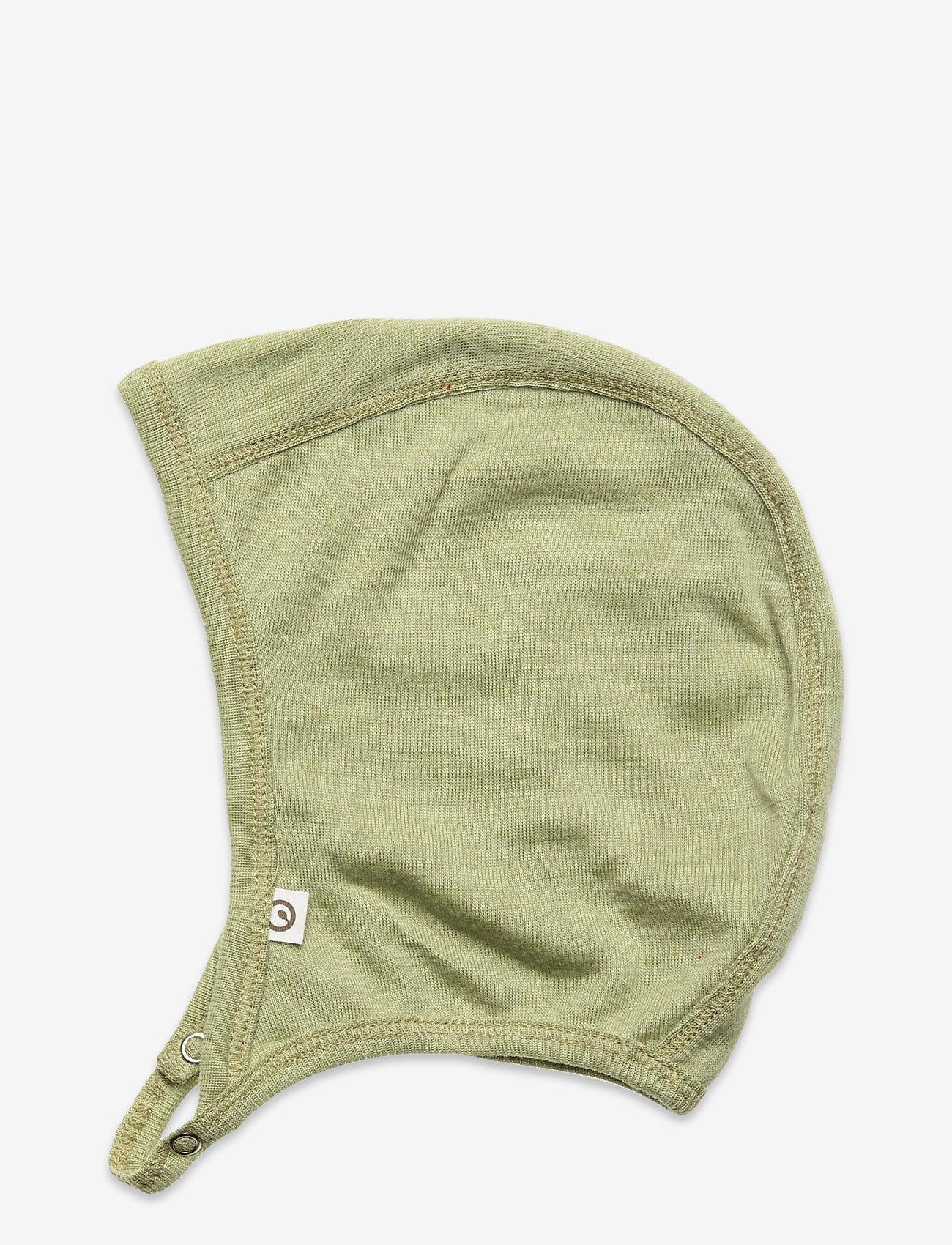 Müsli by Green Cotton - Woolly silk hat baby - huer - moss - 1