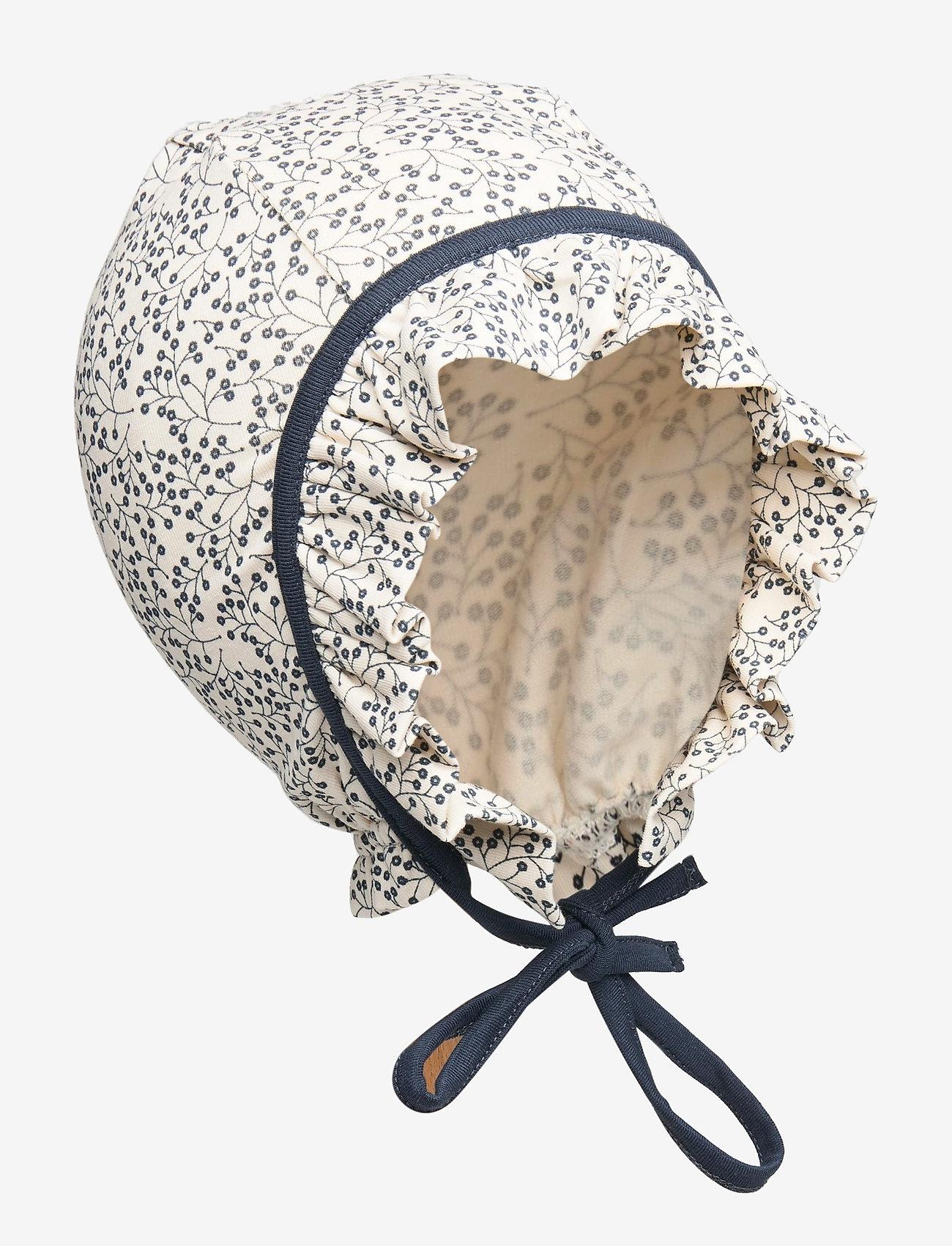 Müsli by Green Cotton - Petit hat baby - hatte og handsker - midnight - 0