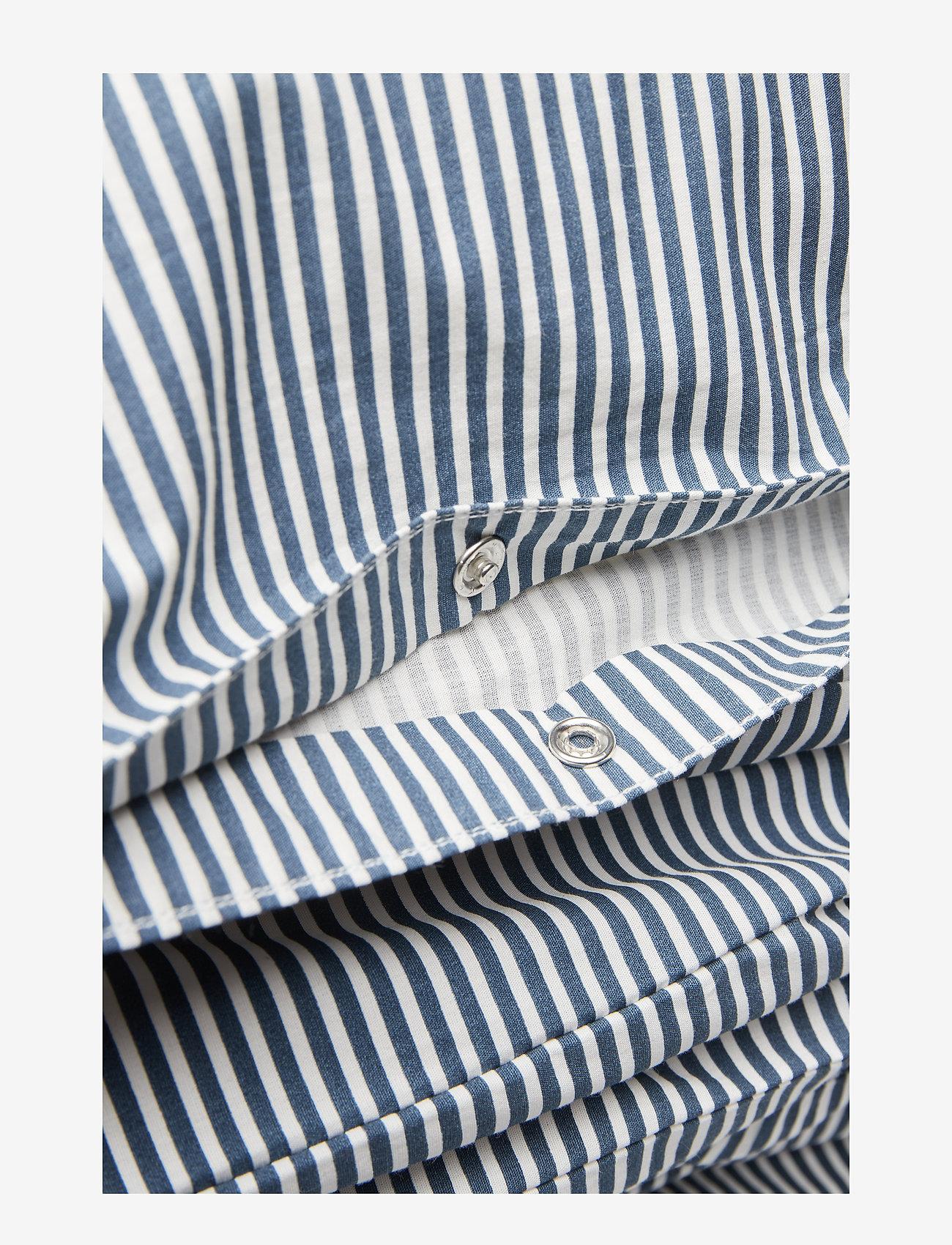 Müsli by Green Cotton - Stripe bed linen adult LONG - pościel - midnight - 1