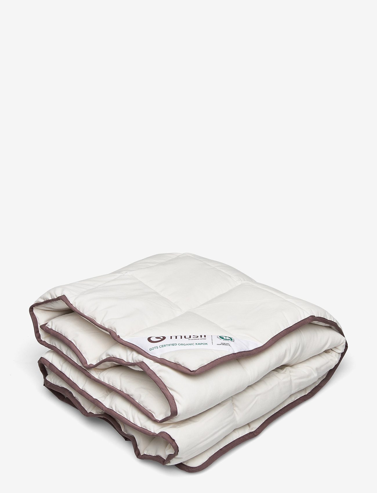 Müsli by Green Cotton - Duvet KAPOK baby - blankets & quilts - cream - 0