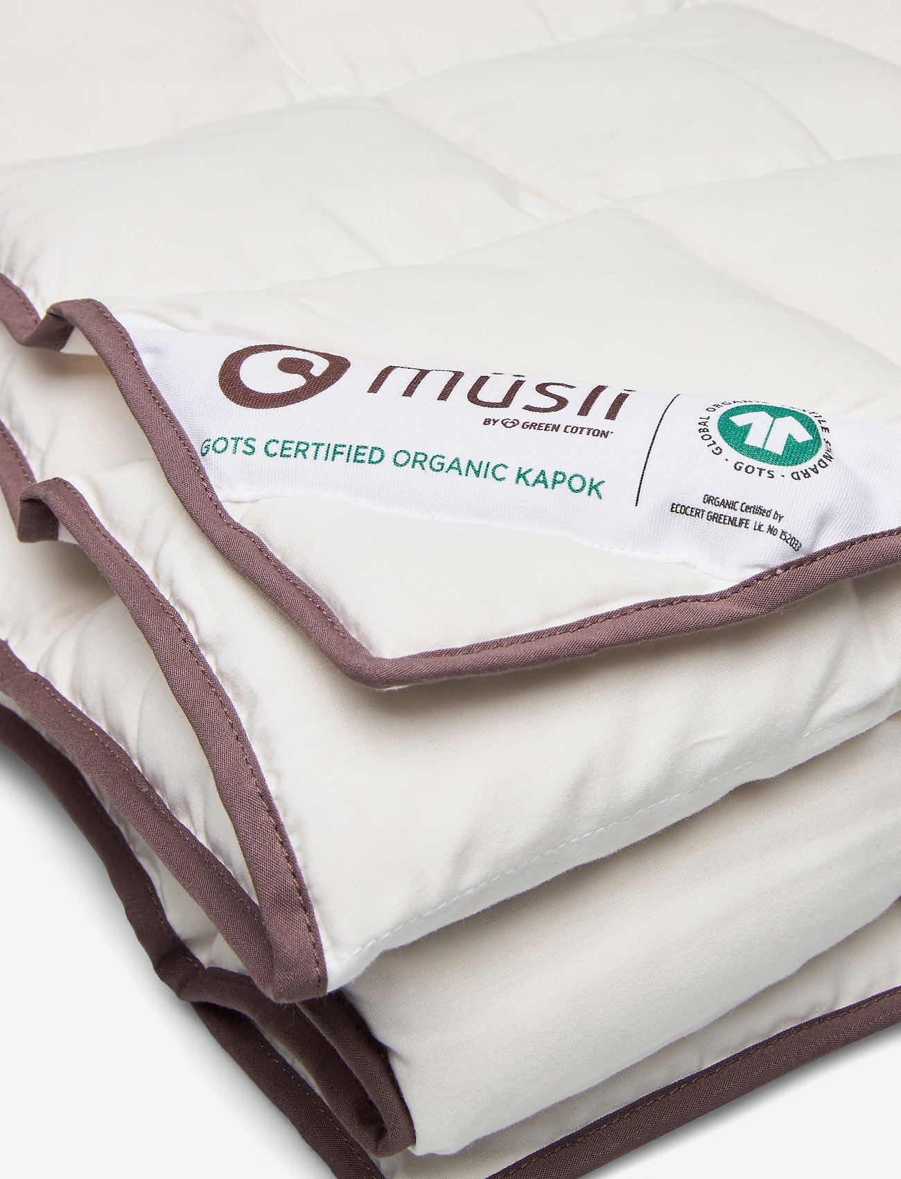 Müsli by Green Cotton - Duvet KAPOK junior - koce i kołdry - cream - 1