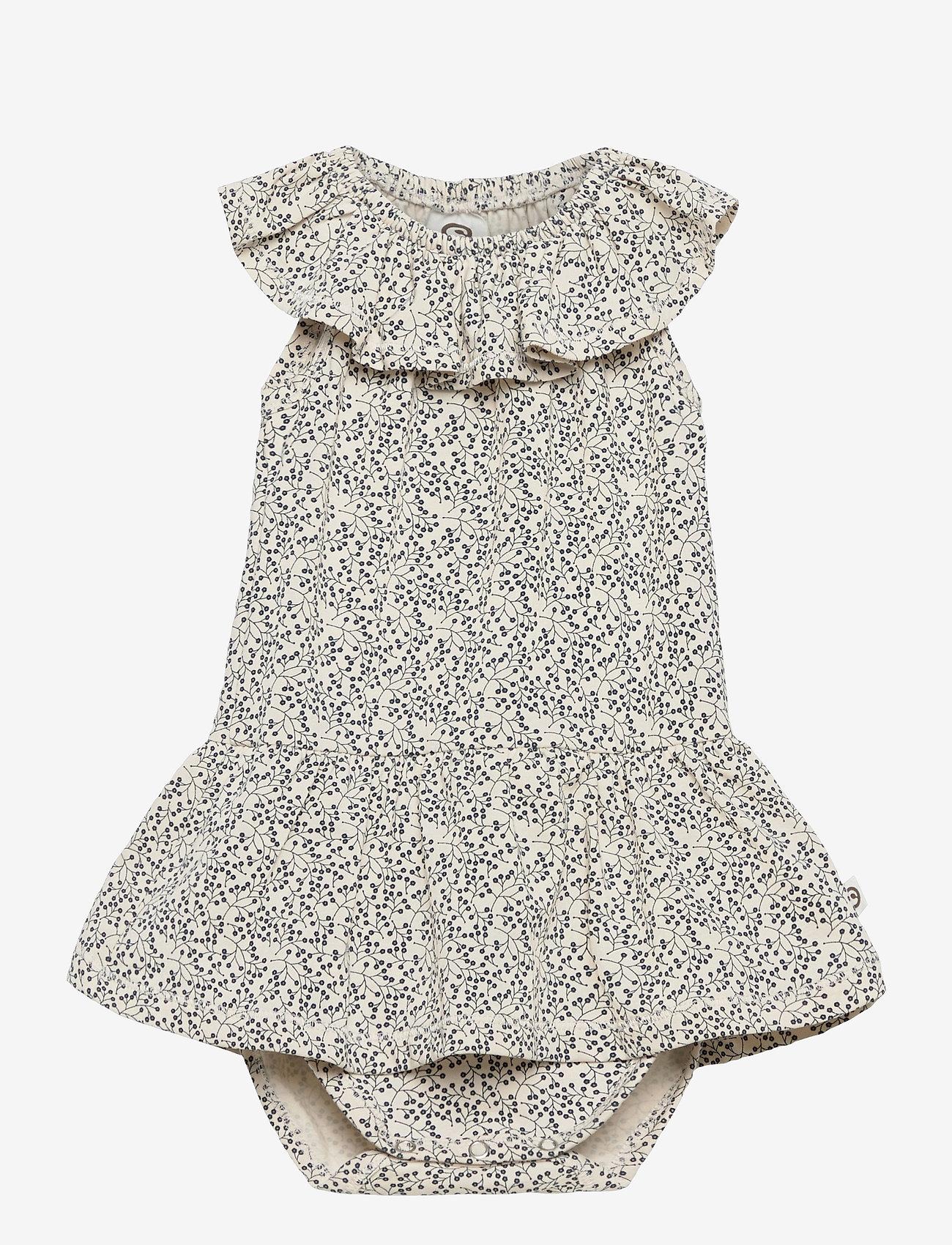 Müsli by Green Cotton - Petit sleeveless skirt body - kurzärmelige - midnight - 0