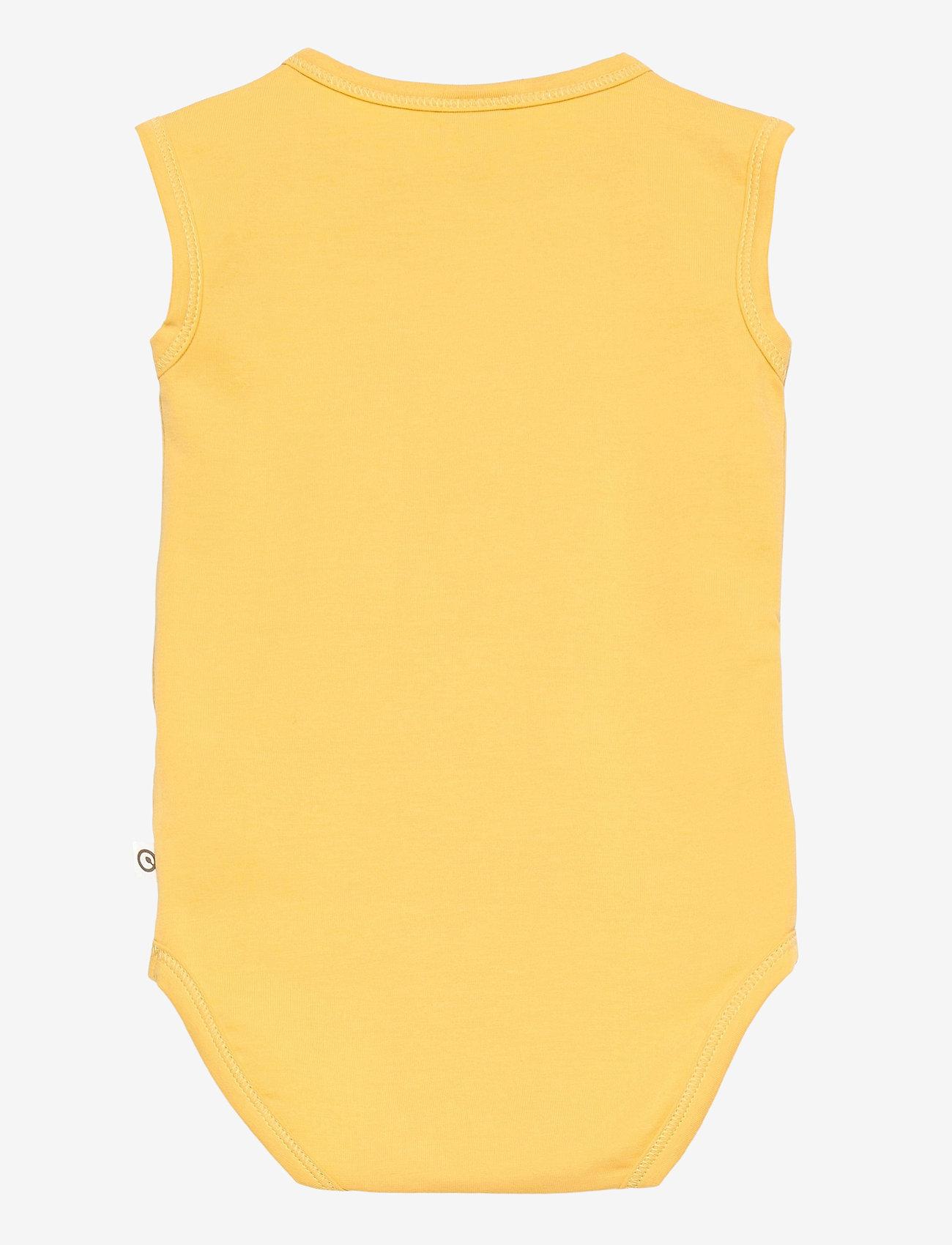 Müsli by Green Cotton - Cozy me sleeveless body - kurzärmelige - sun - 1