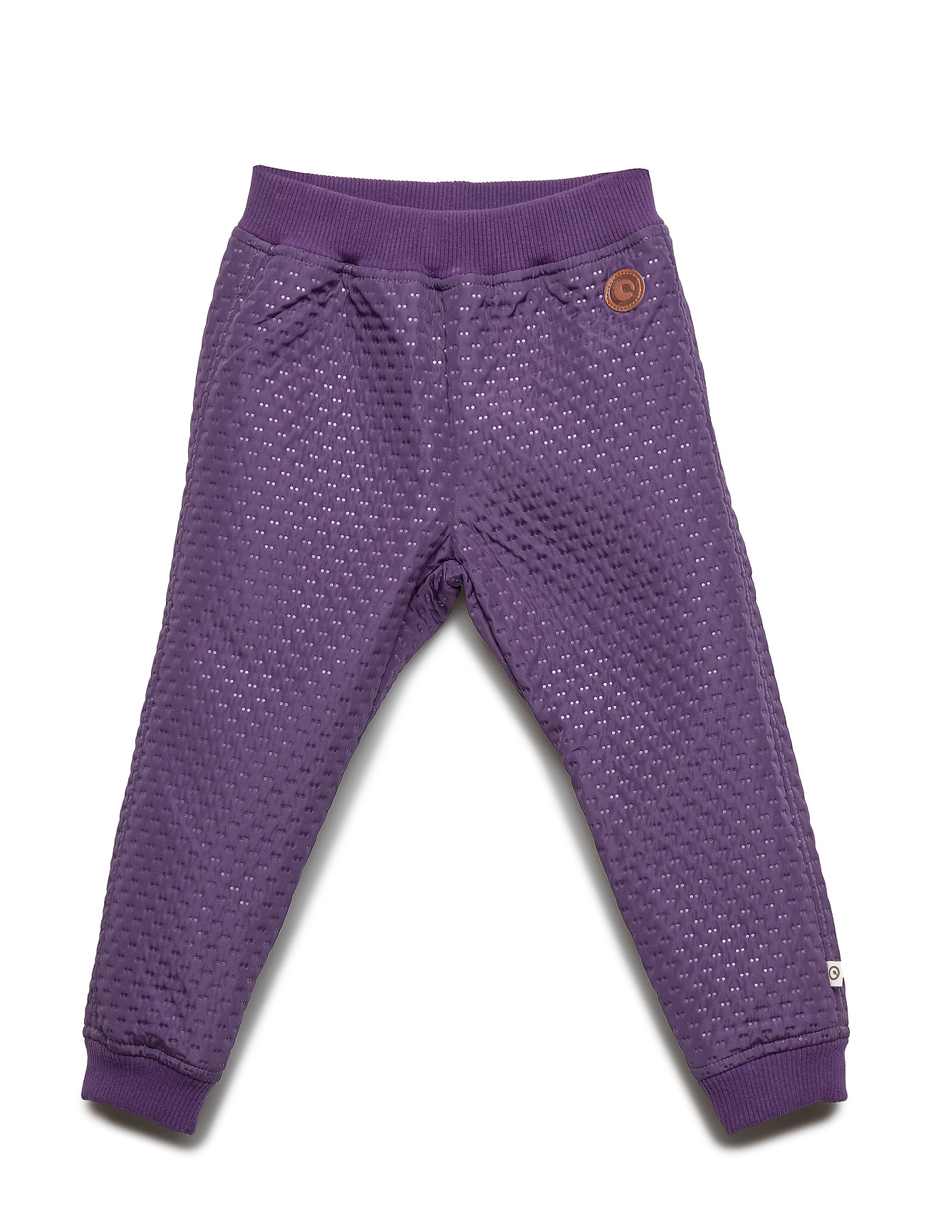 Müsli by Green Cotton Thermo pants - LAVENDER