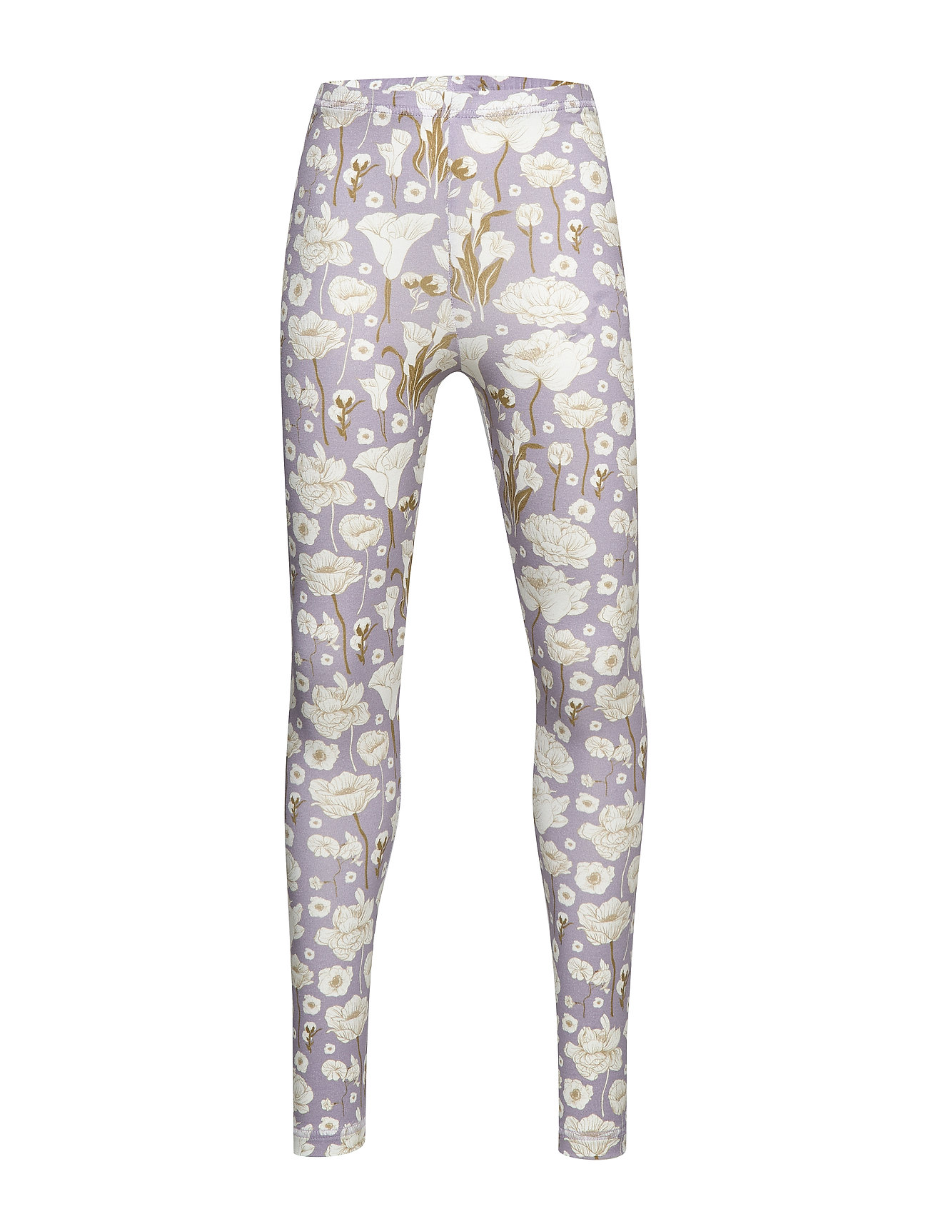 Müsli by Green Cotton Lily leggings - LIGHT LAVENDER