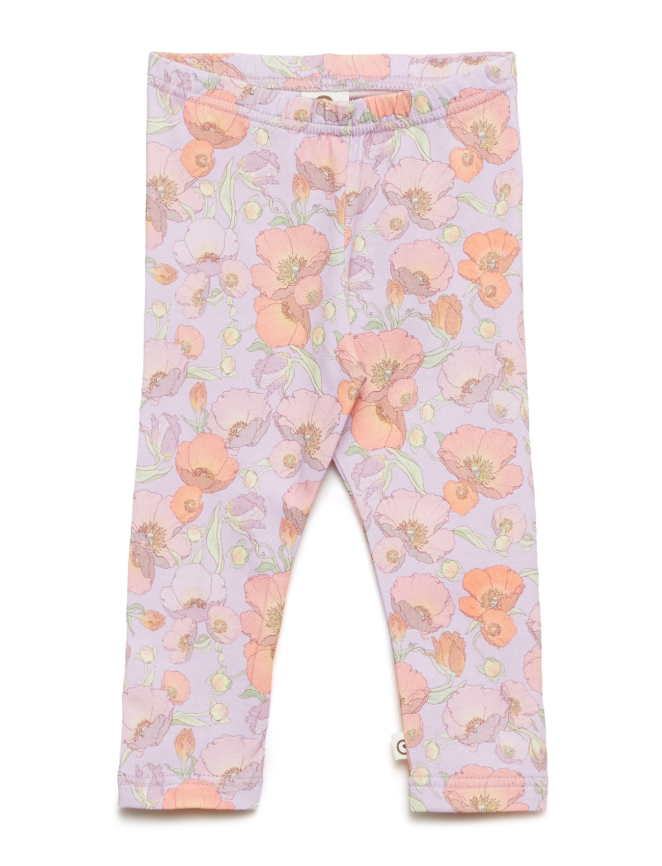 Müsli by Green Cotton Spicy flower leggings baby - ROSE