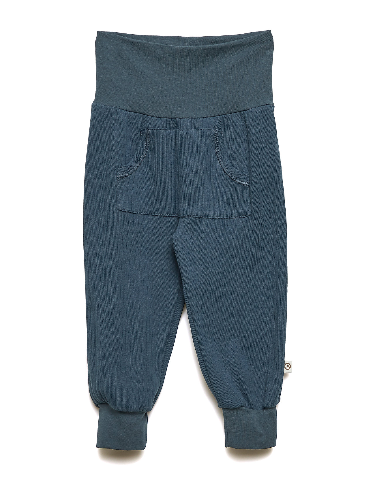 Müsli by Green Cotton Cozy pocket pants - MIDNIGHT
