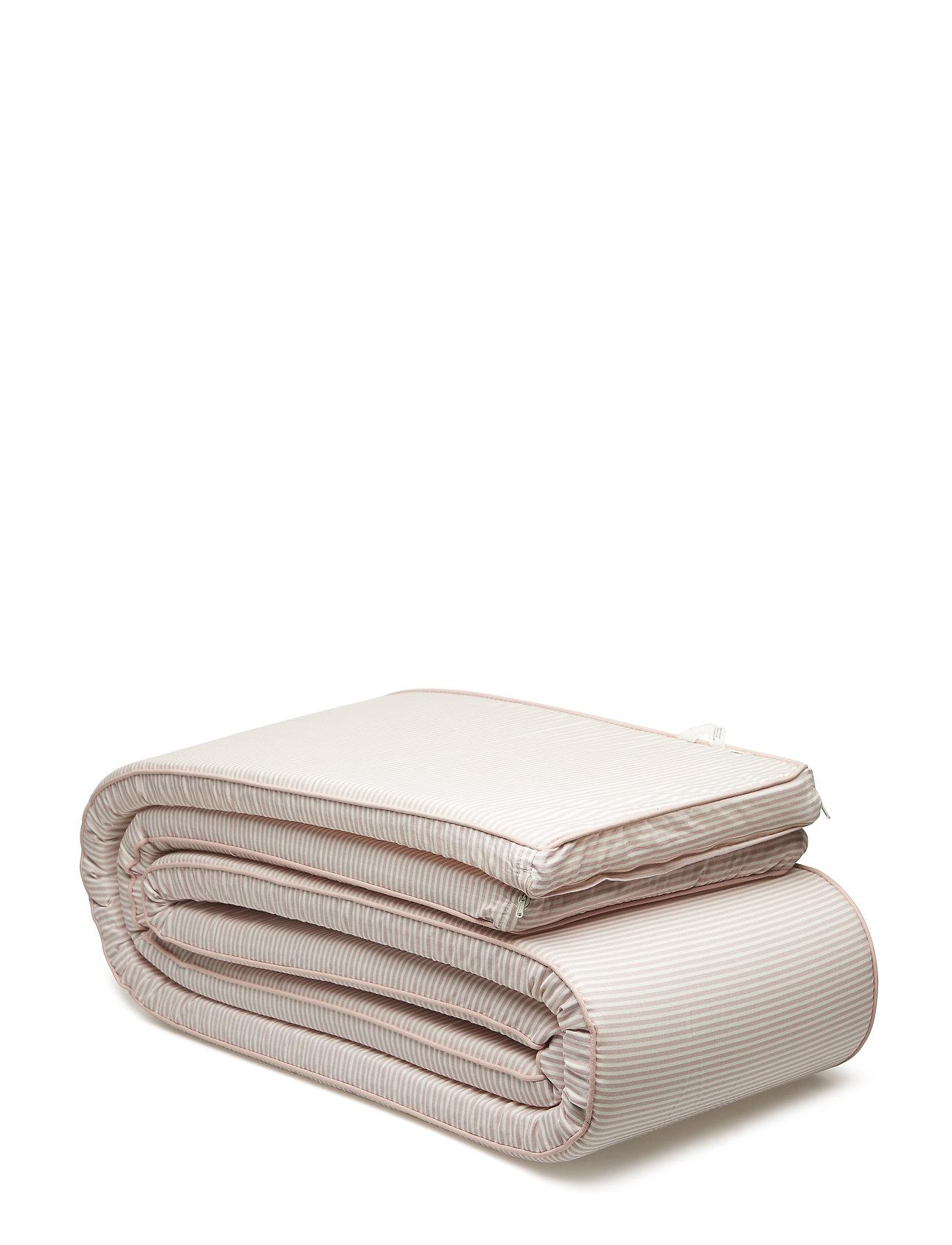Müsli by Green Cotton Stripe bumper - ROSE