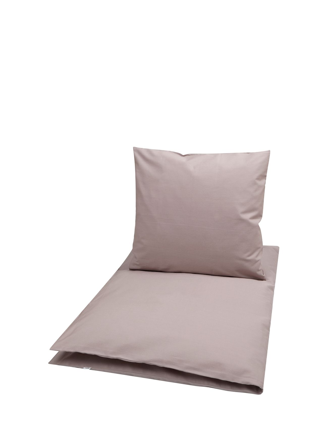 Müsli by Green Cotton Solid bed linen baby - ROSE