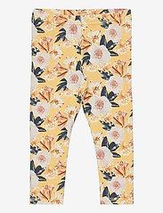 Müsli by Green Cotton - Bloom leggings baby - trousers - sun - 0