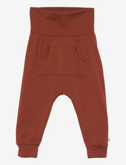 Cozy me pocket pants - FUDGE
