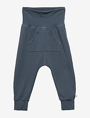 Müsli by Green Cotton - Cozy me pocket pants - trousers - midnight - 0