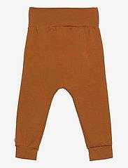 Müsli by Green Cotton - Cozy me bow pants - trousers - ocher - 1