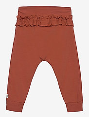 Müsli by Green Cotton - Cozy me string pants - trousers - russet - 1
