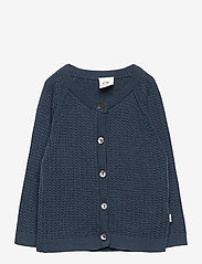 Müsli by Green Cotton - Knit cardigan - gilets - midnight - 0