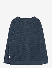 Müsli by Green Cotton - Knit cardigan - gilets - midnight - 1