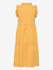 Müsli by Green Cotton - Sunbed frill shoulder dress - kleider - sun - 1