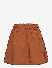 Müsli by Green Cotton - Woven skirt - röcke - ocher - 0