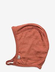 Müsli by Green Cotton - Woolly silk hat baby - huer - russet - 1