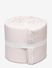 Müsli by Green Cotton - Stripe bumper - zderzak łóżka - rose - 1