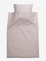 Müsli by Green Cotton - Stripe bed linen junior - pościel - rose - 0