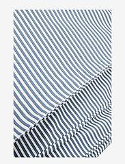 Müsli by Green Cotton - Stripe bed linen adult LONG - pościel - midnight - 2