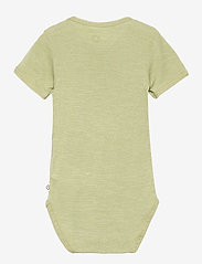 Müsli by Green Cotton - Woolly silk s/s body - kurzärmelige - moss - 1