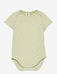 Müsli by Green Cotton - Beachball s/s body - kurzärmelige - pale moss - 0