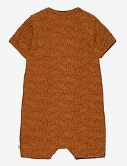 Müsli by Green Cotton - Rhino beach body - kurzärmelig - ocher - 1