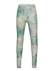 Spicy marble leggings - ECRU