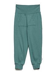 Cozy pocket pants - DREAM GREEN
