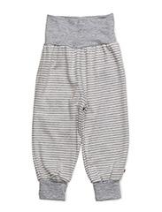 Stripe pants - PALE GREYMARL