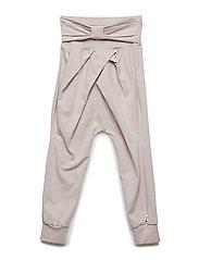 Cozy me bow pants - ROSE
