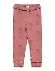 Jellyfish frill pants - DREAM ROSE