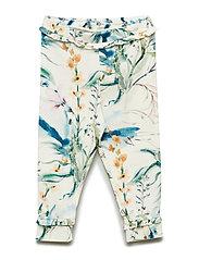 Spicy botany frill pants - CREAM