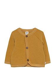 Woolly fleece jacket baby - WOOD