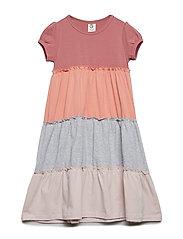 Cozy me layer dress - DREAM ROSE