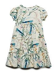 Spicy botany layer dress - CREAM