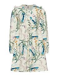 Spicy botany dress - CREAM