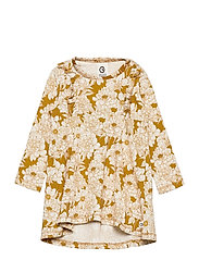 Floral dress baby - WOOD